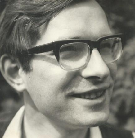 Jeugdfoto | Jonge Herman de Liagre Bohl_ 21 jaar (1964)