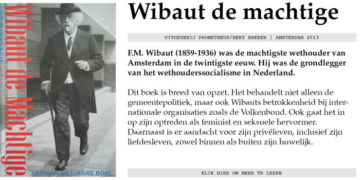 Wibaut_Boeken info